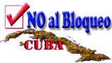 NO AL BLOQUEO DE CUBA
