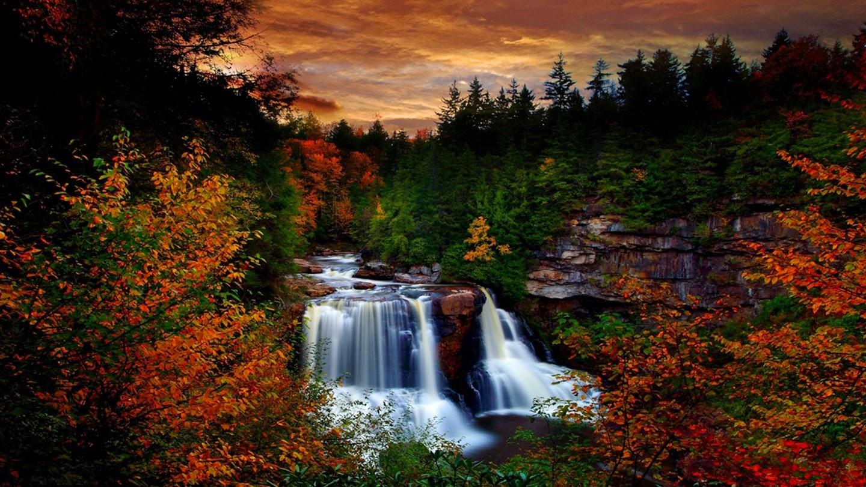 Blackwater Falls, Davis, West Virginia, USA