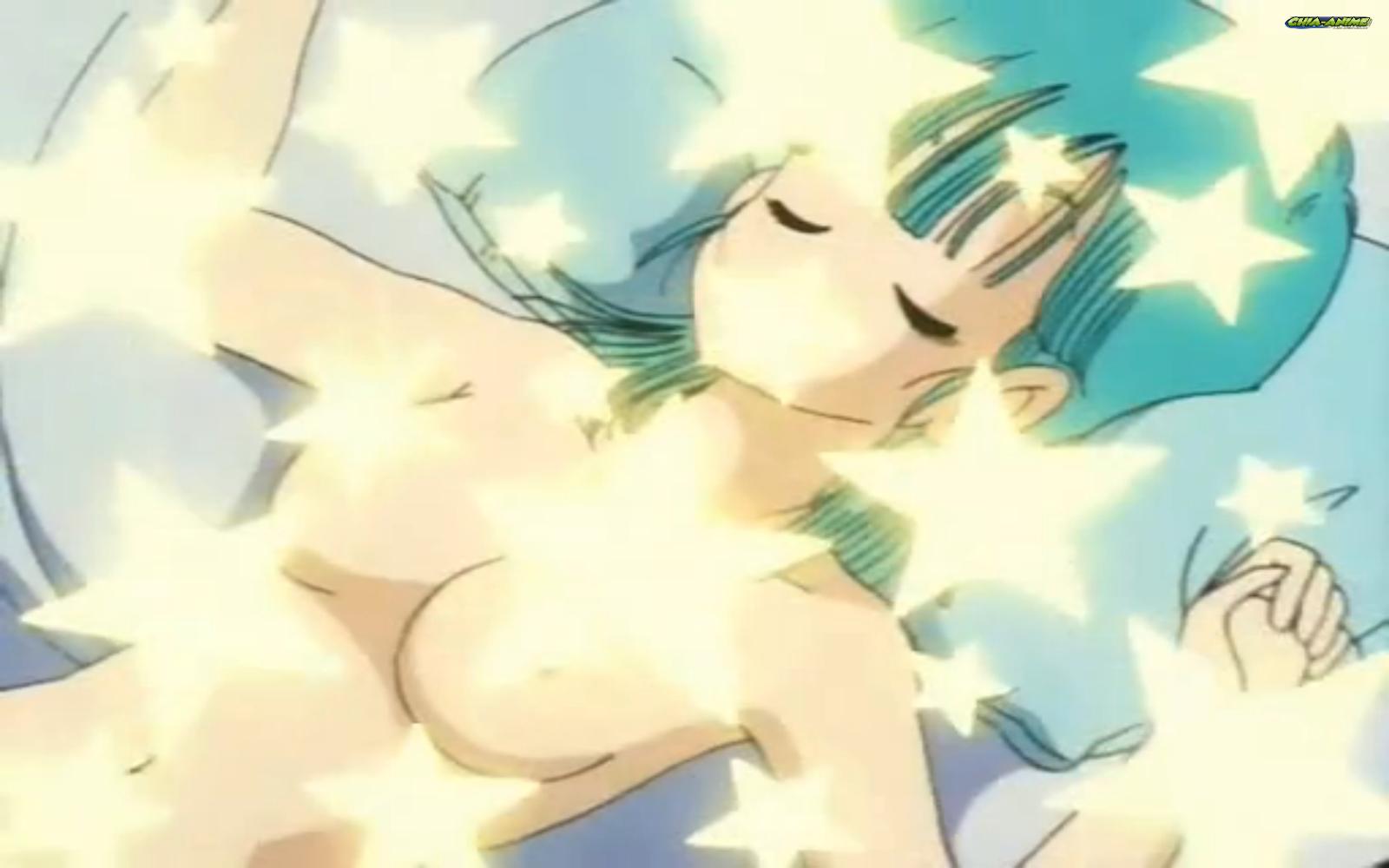 nude sleep Bulma