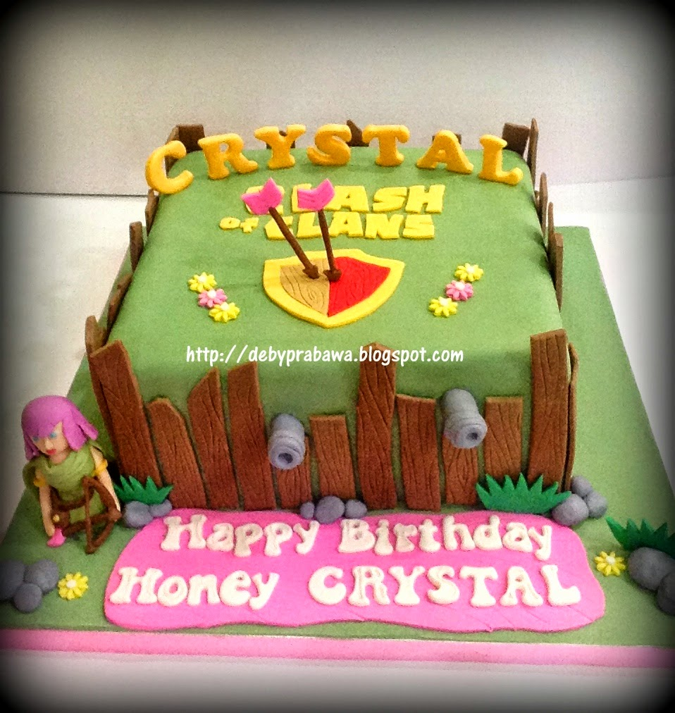Cake Design Coc : Butterfly Cake: Clash of Clans Cake