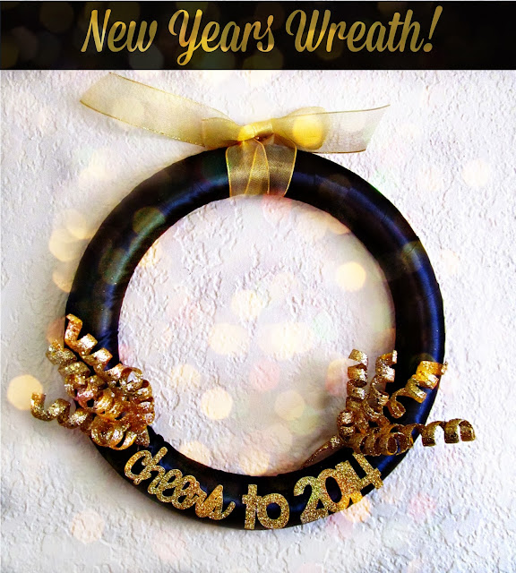 Make your own New Years Wreath!