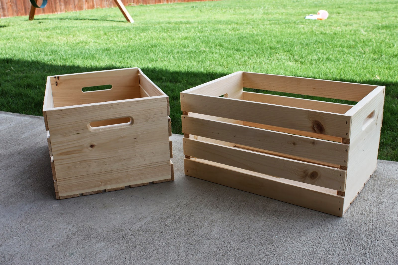 Little This That Diy Rolling Wood Crates