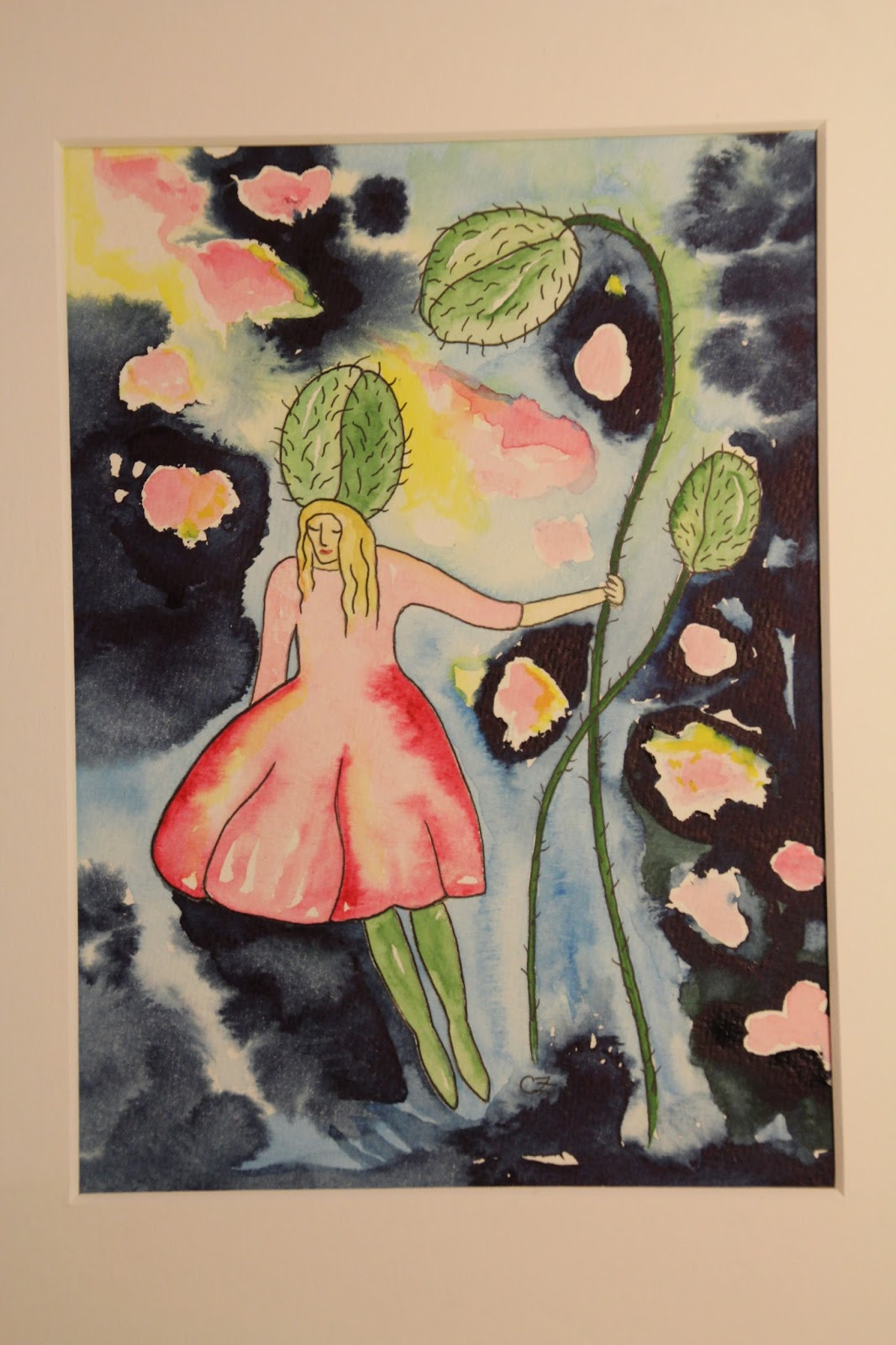 akvarell carolin zander