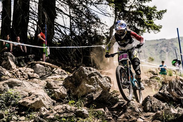 2015 Lenzerheide UCI World Cup Downhill: Race Highlights