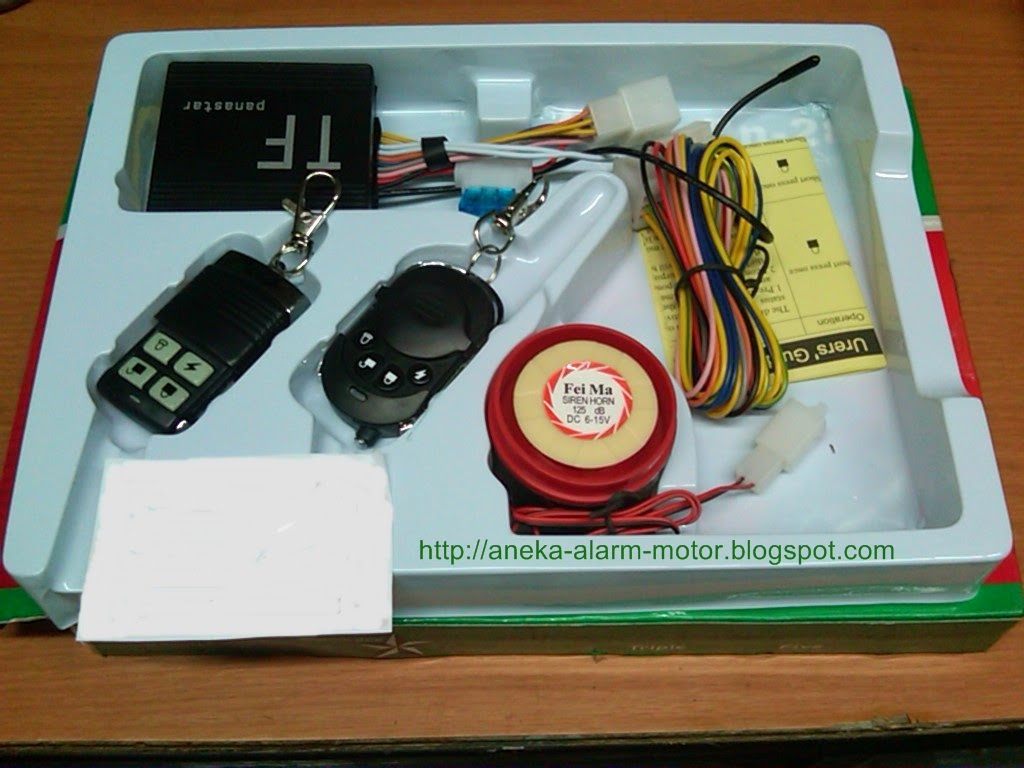 Jual Dan Pasang Aneka Alarm Motor Remote Bekasi Dan Sekitarnya