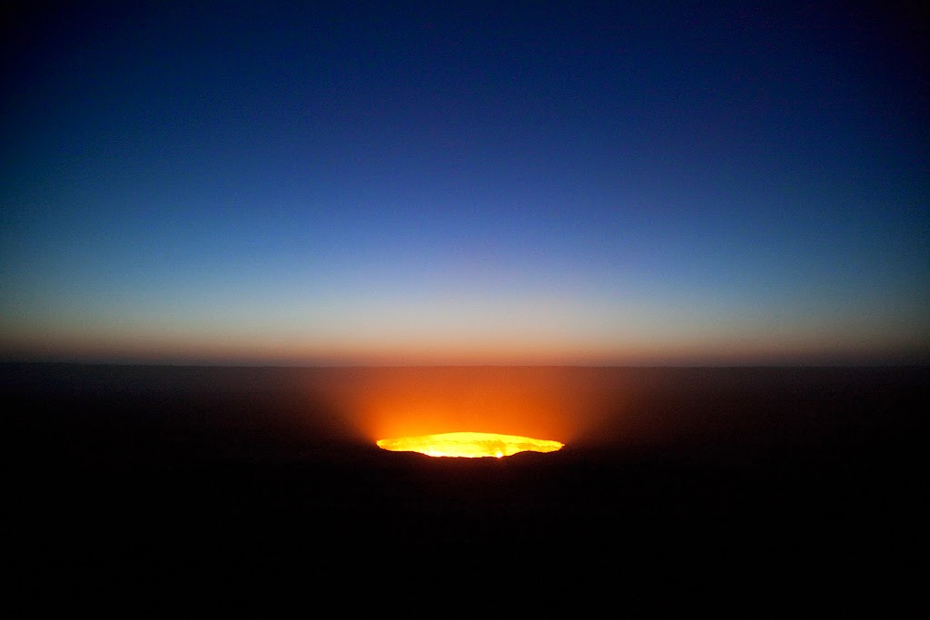 Door to Hell, Turkmenistan at Night