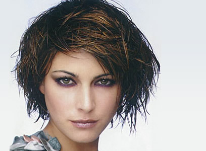short punk hairstyles for women. messy hairstyles for women