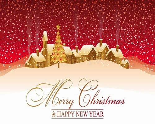 happy christmas wallpapers free