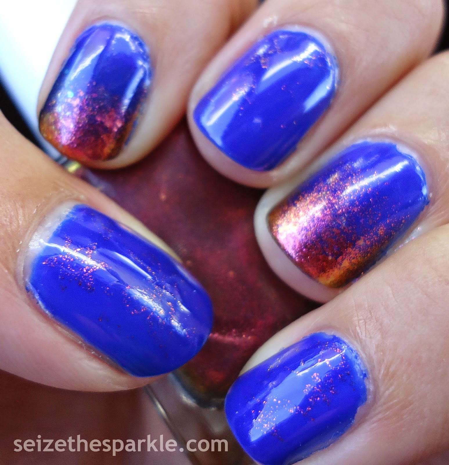 Hard Candy Beetle & Blue Lagoon Layering
