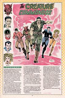 Comando Monstruo (ficha dc comics)