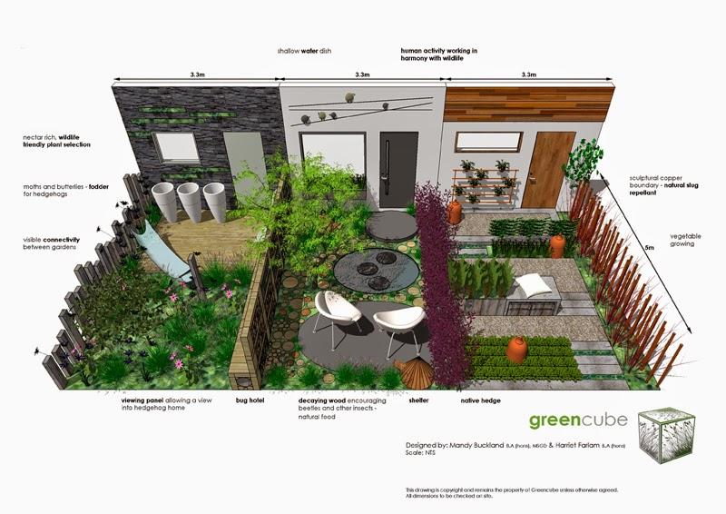 greencube garden and landscape design, UK: wildlife friendly gardens