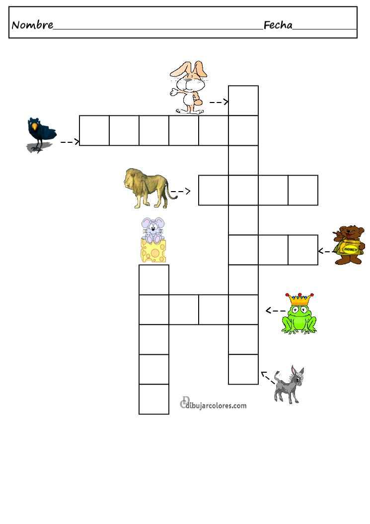 Two crucigrama - Actividades Formativas