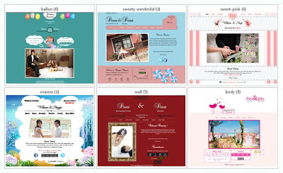 Theme undangan pernikahan online