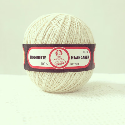 ByHaafner, crochet yarn, cotton crochet, Modinetje, white