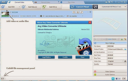 Any Video Converter Ultimate 5.5.1 Full Version Free Download With Keygen Crack Licensed File