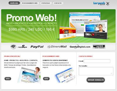 LaryWeb
