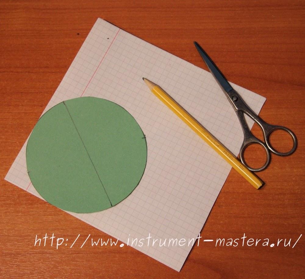 Как найти центр круга