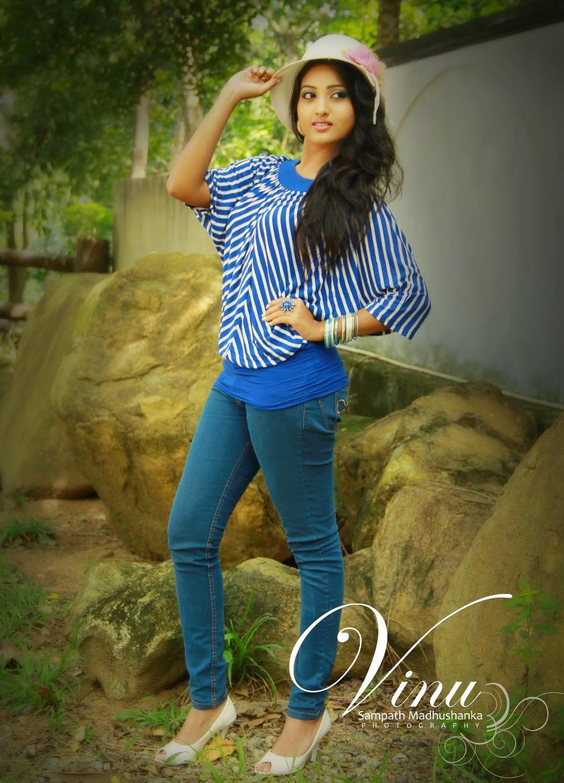 Vinu Udani Siriwardana blue