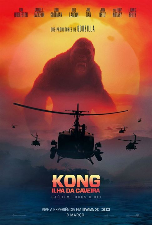 Kong: A Ilha da Caveira 4K Torrent – BluRay 2160p Dual Áudio