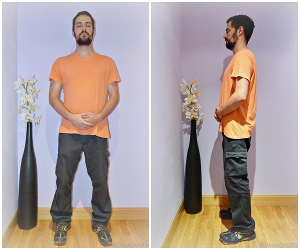 Meditación de pie