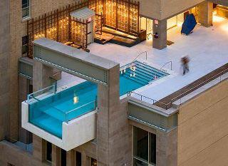 Picture Society Swimming Pool On Roof Top