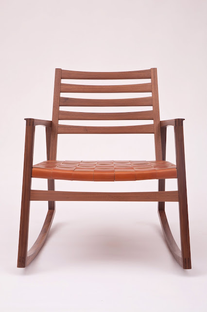 Killscrow, Darrick Rasmussen Furniture, Low Rocker front view 2013