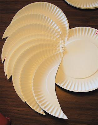 แฟชั่นงานประดิษฐ์ปีกแองเจิล/ปีกเทพ น่ารักสุด ๆ จากจานกระดาษ