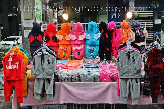 Korean Kids apparel