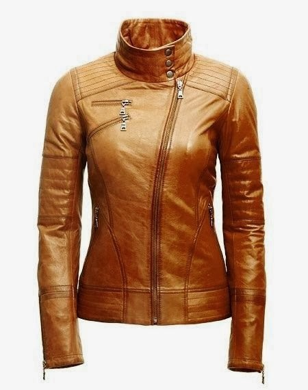 Gorgeous Brown Leather Jacket