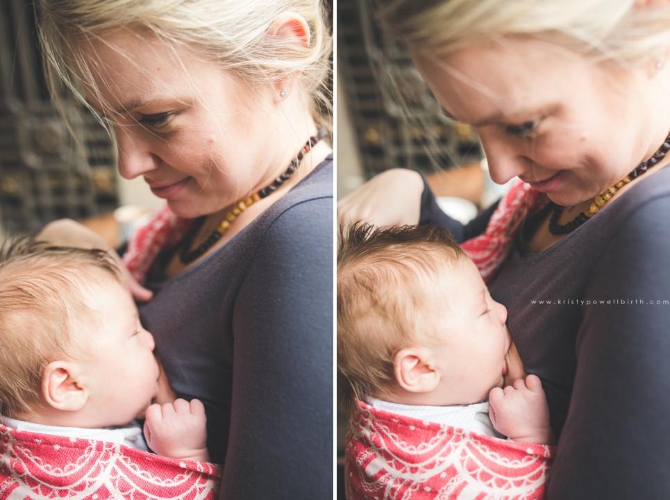 Philadelphia babywearing photographer