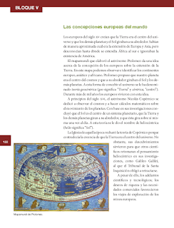 Las concepciones europeas del mundo - Historia 6to Bloque 5 2014-2015