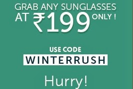 Premium Polarized Sunglasses worth Rs.899 just for Rs.199 only at Lenskart