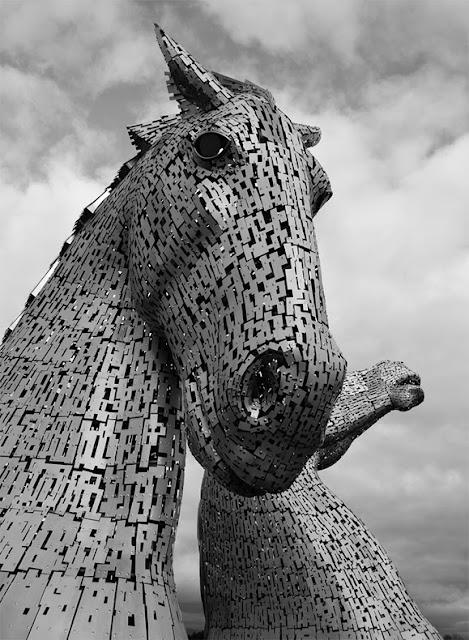 The Kelpies: los caballos gigantes de Falkirk, Escocia