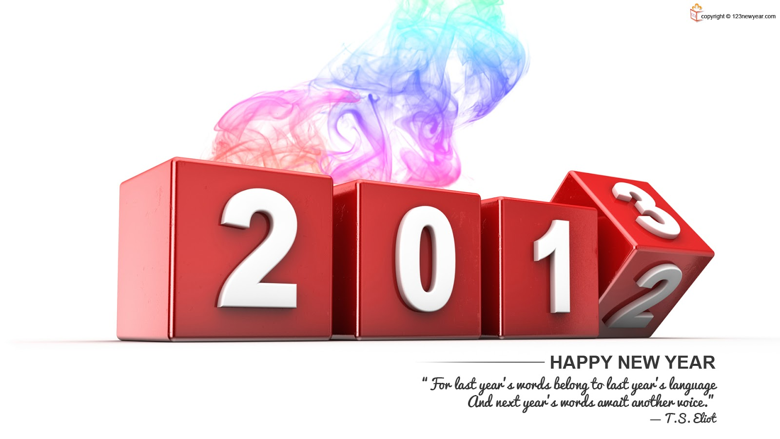 Happy New Year Quotes 2013
