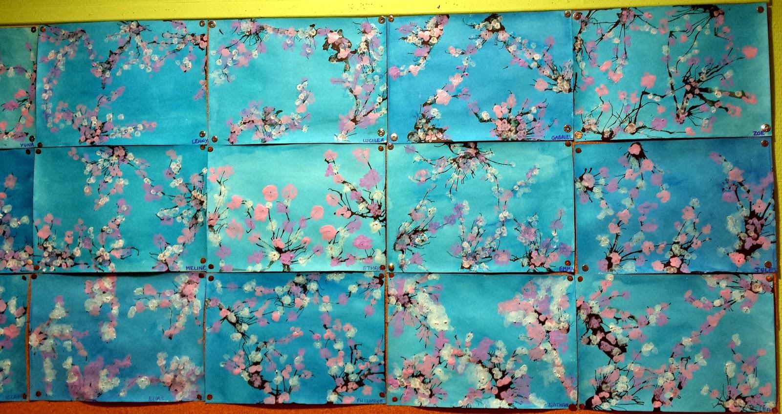 Th mes d 39 cole printemps arbre en fleurs for Les fonds des photos