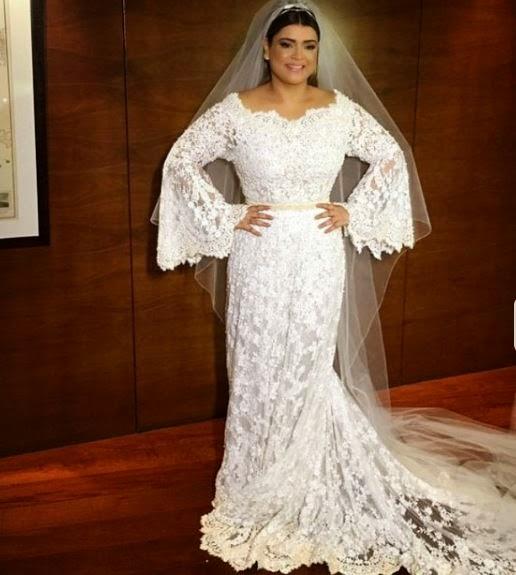 Vestido de noiva da Preta Gil - #pretacasou !
