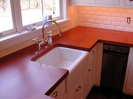 Countertop Colors In White Kitchen