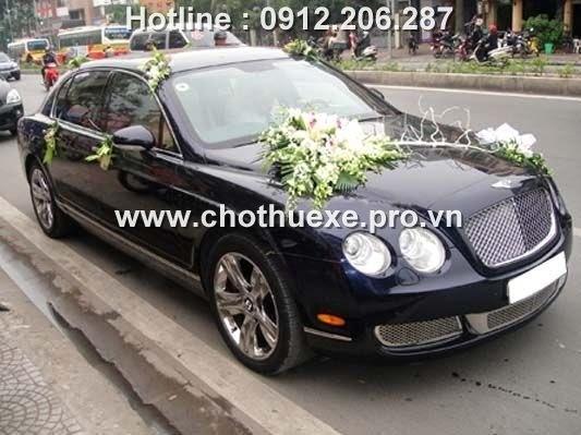 Cho thuê xe cưới Bently F.spur V12 VIP