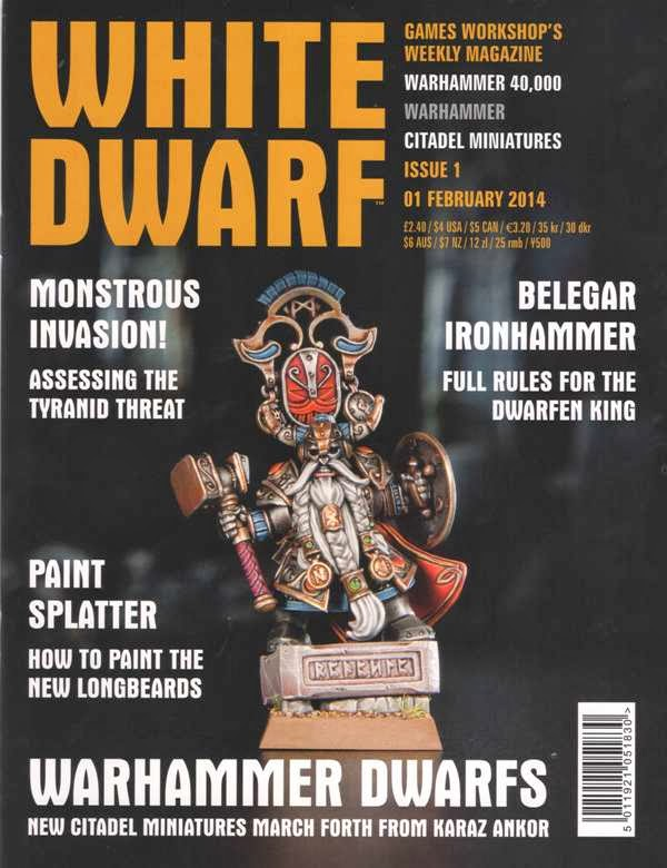 Número 1 de la White Dwarf Weekly