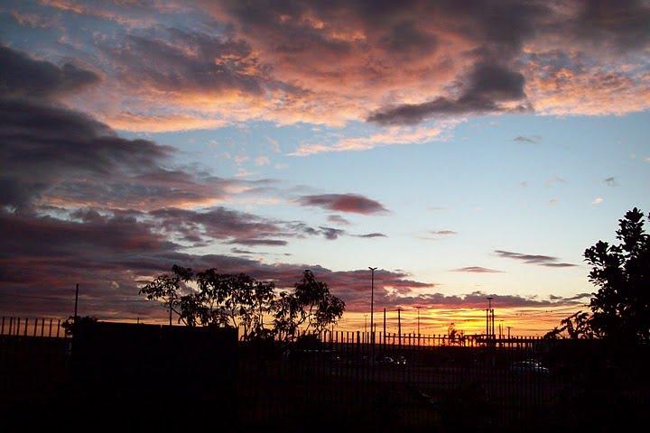 Linda Foto do Nascer do sol em Santa Maria-DF