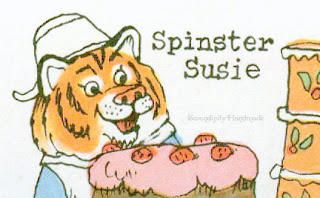 Spinster Susie, from What Do People Do All Day at Serendipity Handmade blog