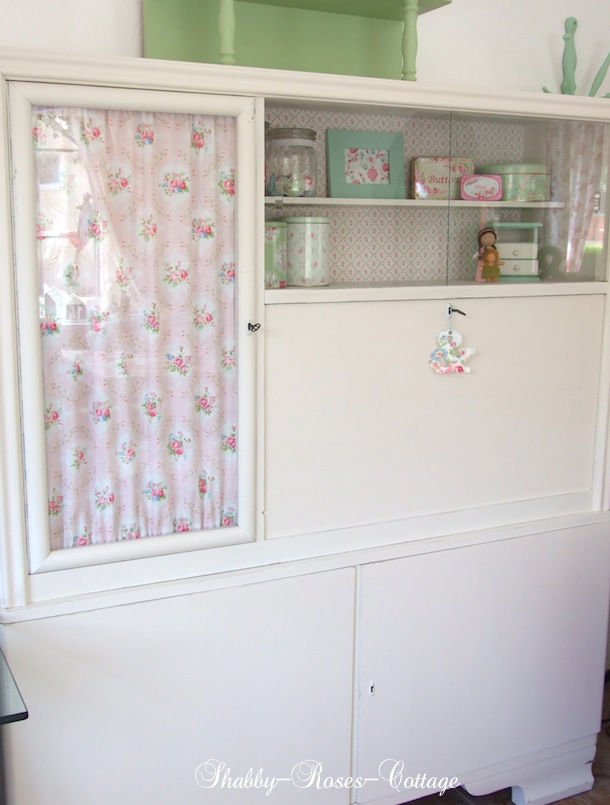 shabby roses cottage from trash to treasure a little bunny an ufo. Black Bedroom Furniture Sets. Home Design Ideas