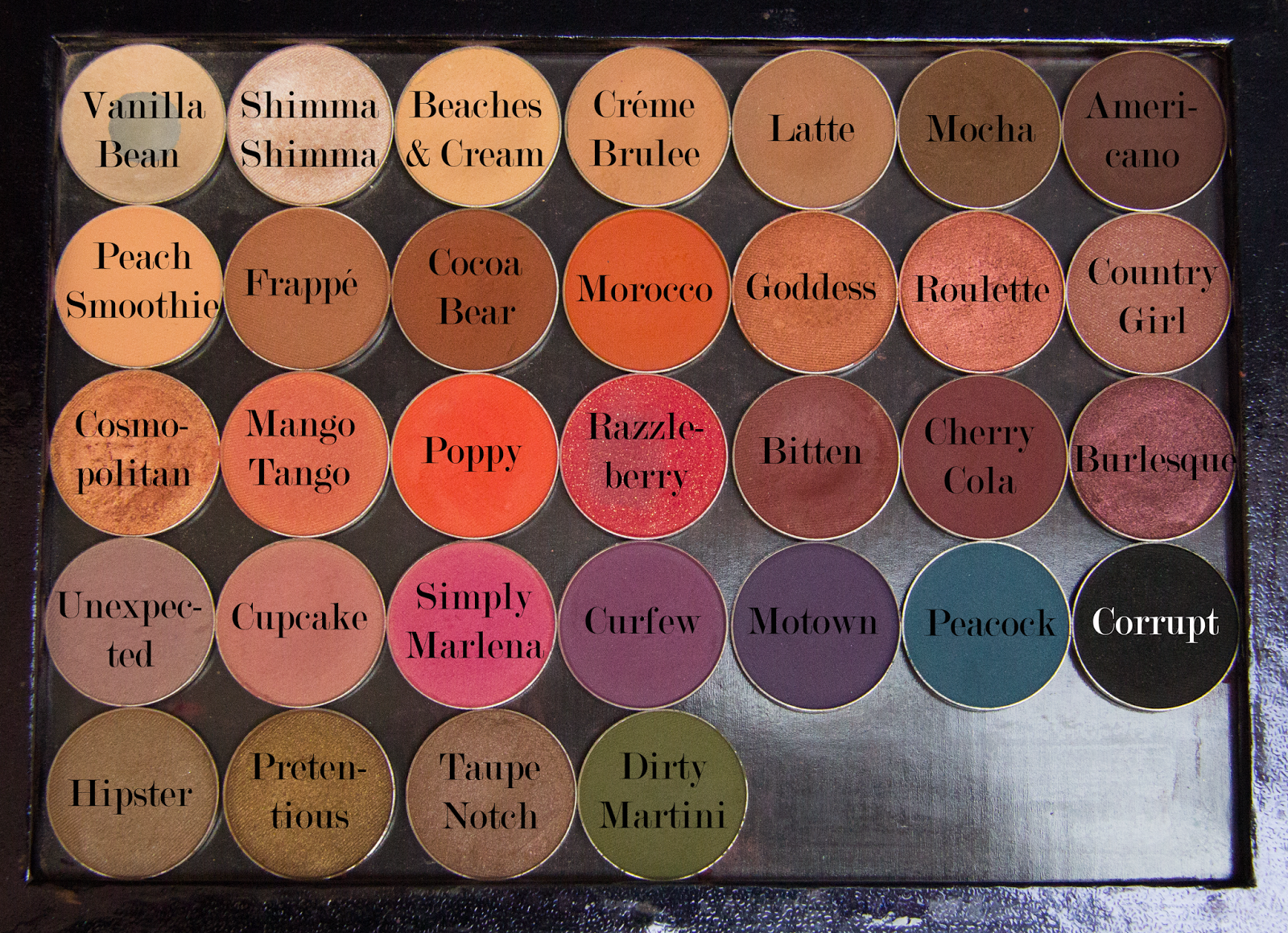 makeup geek, makeup, swatches, review,