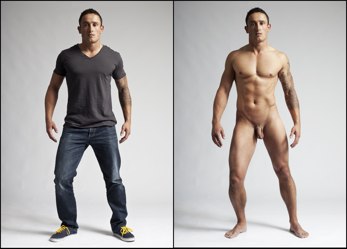 men and Amateur clothed naked