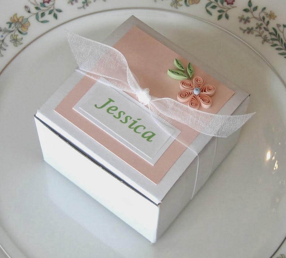 quilled wedding favor tutorial