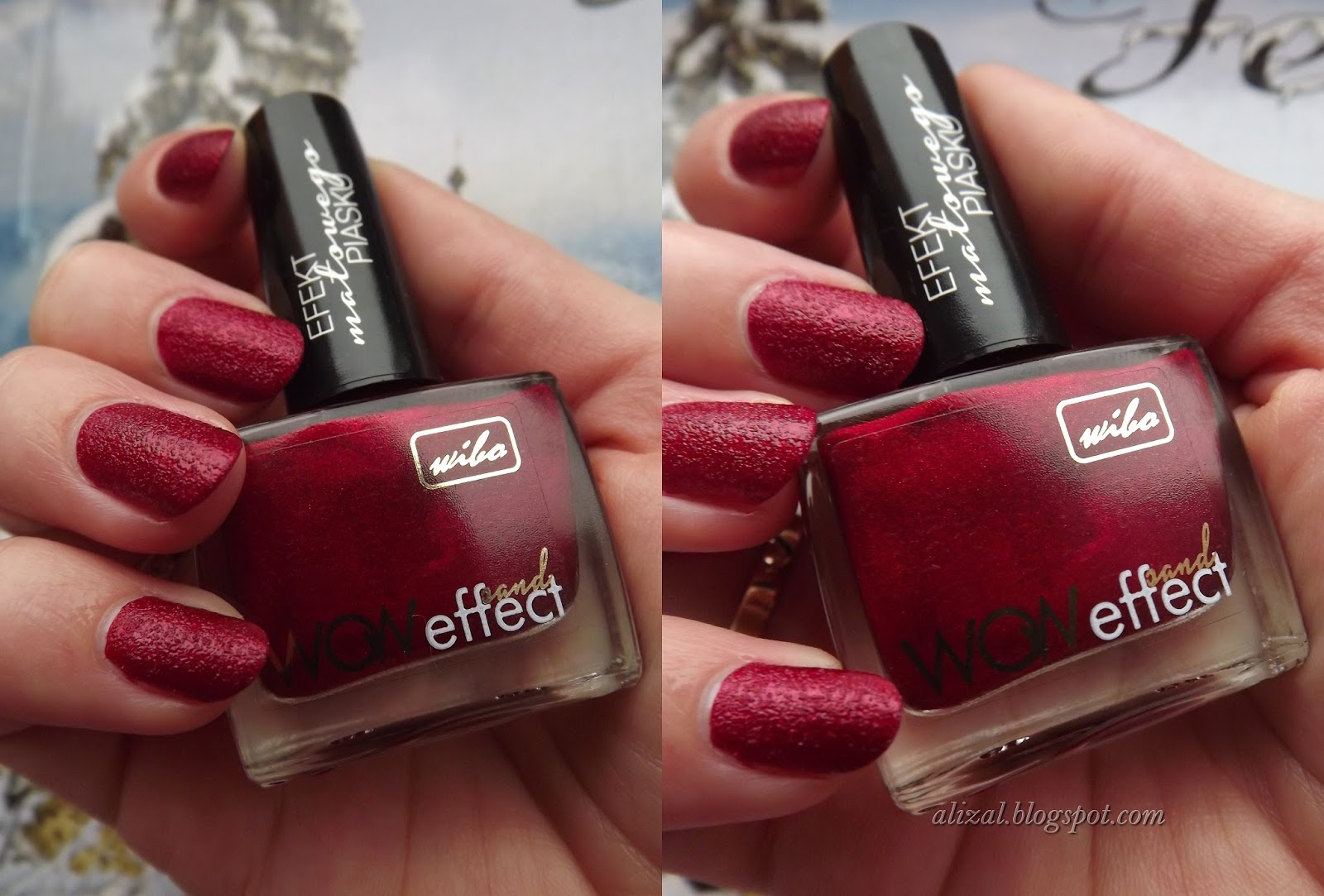 Alizall Z Nails And Beauty Blog Wibo Efekt Matowego Piasku Nr 4