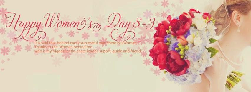 Ảnh bìa Facebook 8/3 đẹp nhân ngày quốc tế phụ nữ