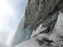 Niagara Still Frozen!