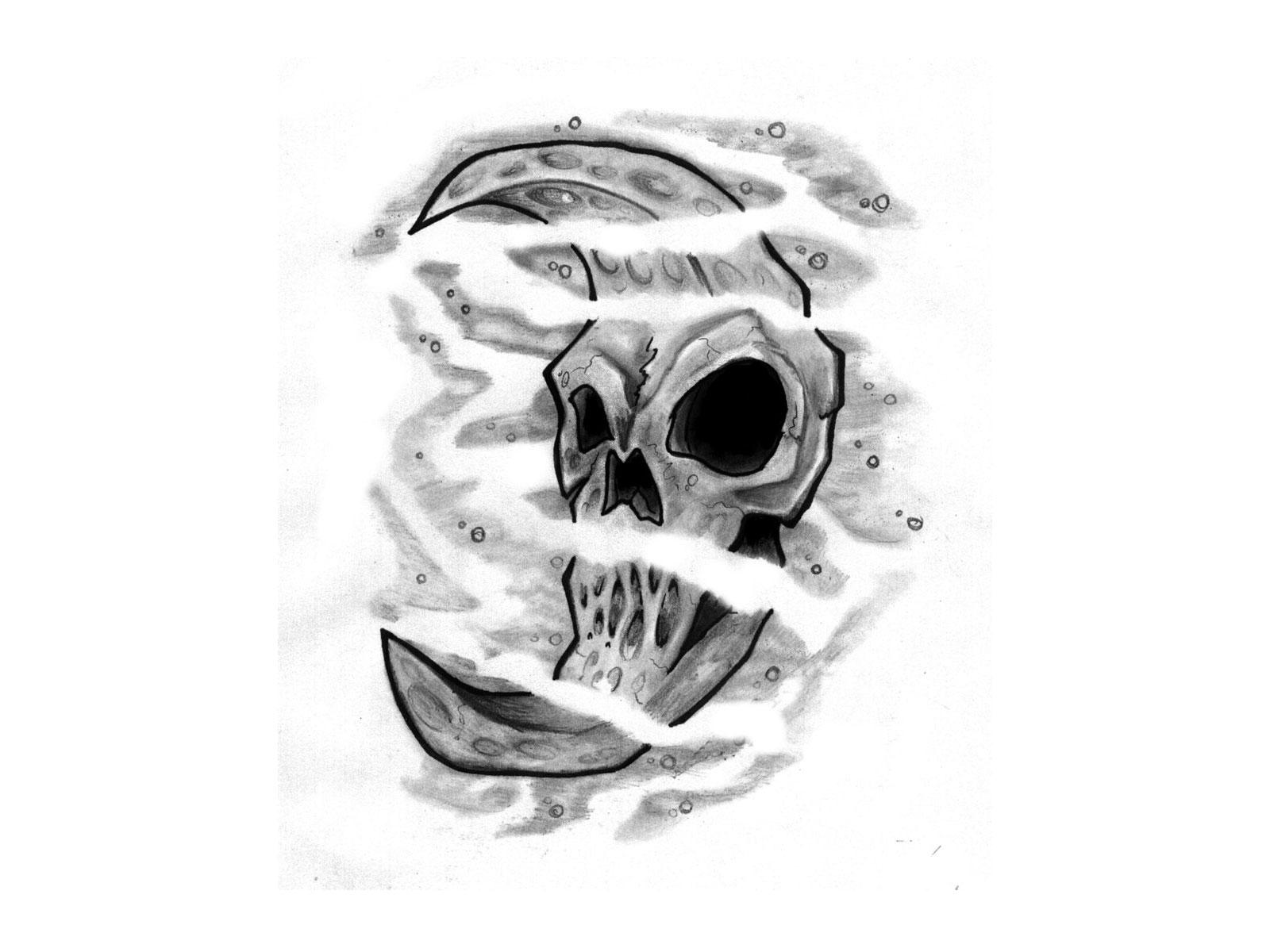 Skull Of Moon Tattoo 10 Face Of The Moon Tattoo