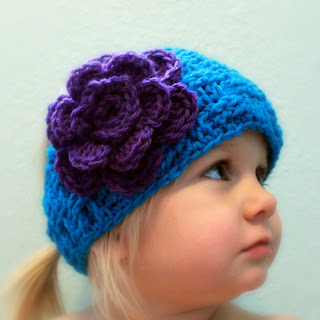 baby Headbands with Flowers - Ravelry - a knit and crochet